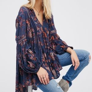 Free People Just The Two Of Us Tunic XS